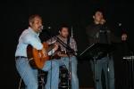 Tres cantores