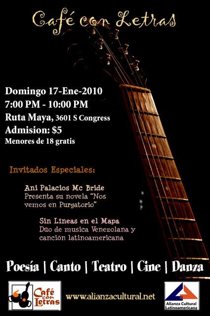 Café con Letras de Enero 2010