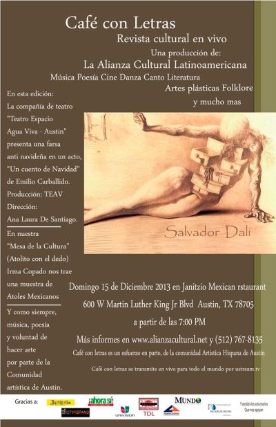 Cafe con Letras Diciembre 2013