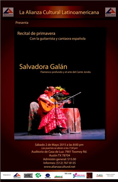 Afiche de Salvadora Galan